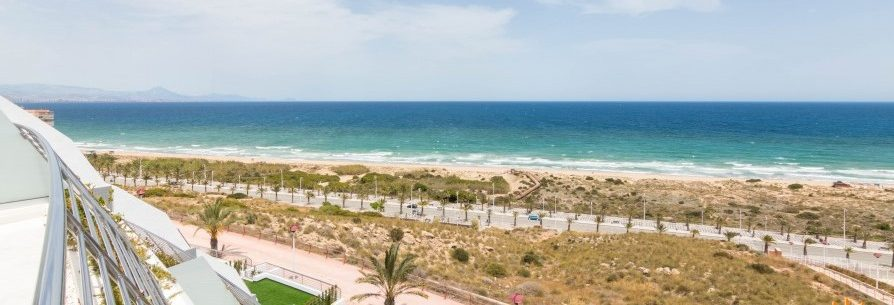 Region Alicante, Costa Blanca: Luxus-Appartement mit Meerblick
